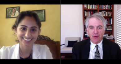 Dr. Priyanka Gaur and Richard Hoffman discuss values in medicine.