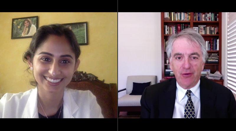 Dr. Priyanka Gaur and Richard Hoffman discuss values in medicine.