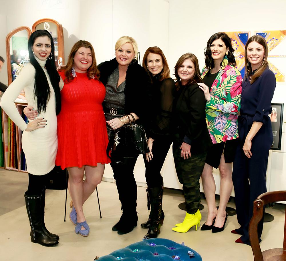 Ashley Sharp, Anna Curnes, Shay Geyer, Lisa Robison, Christi Merril, Annie Griffeth, and Melissa Ellis
