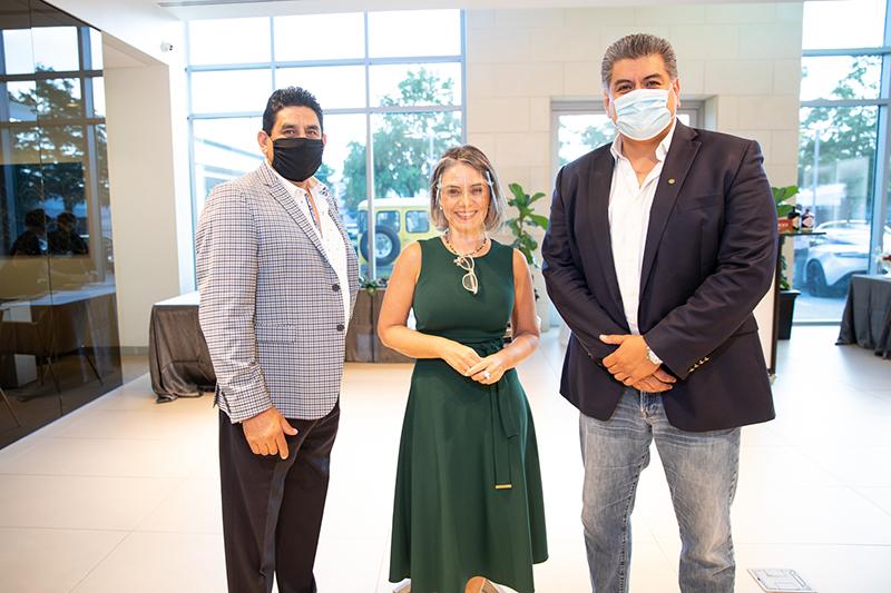 Ricardo Cabral, Adriana Boas, and Francisco Arias