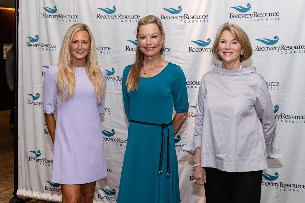 Lauren Gilette, Laura Baugh, and Nancy Zogg