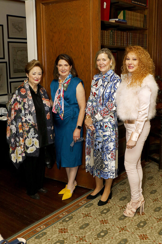 Mary Brinegar, Suzanne Millet, Kay Weeks, and Empress Gilbert