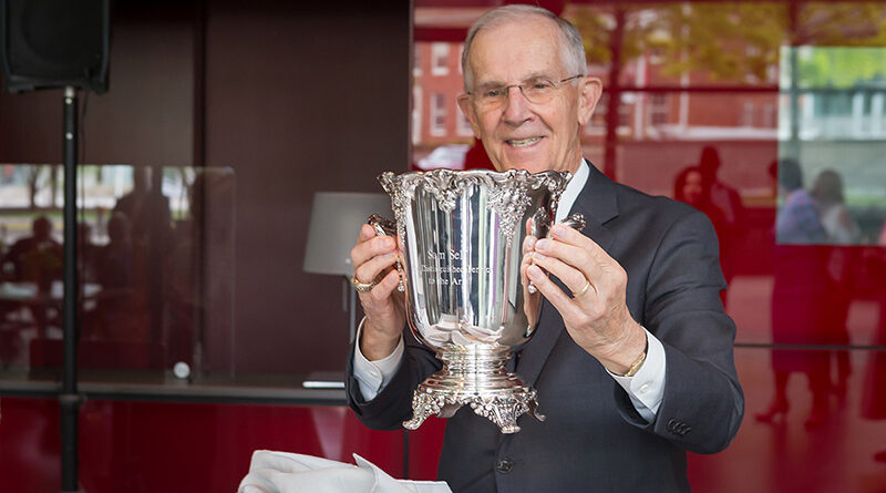 Silver Cup Luncheon Attendees Dodge Raindrops to Honor Self, Wilhelm